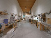 The science trench after closing time<br /> <br /> Photo: Sepp Kipftstuhl