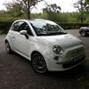 Fiat 500 - not something you'd see in the states...