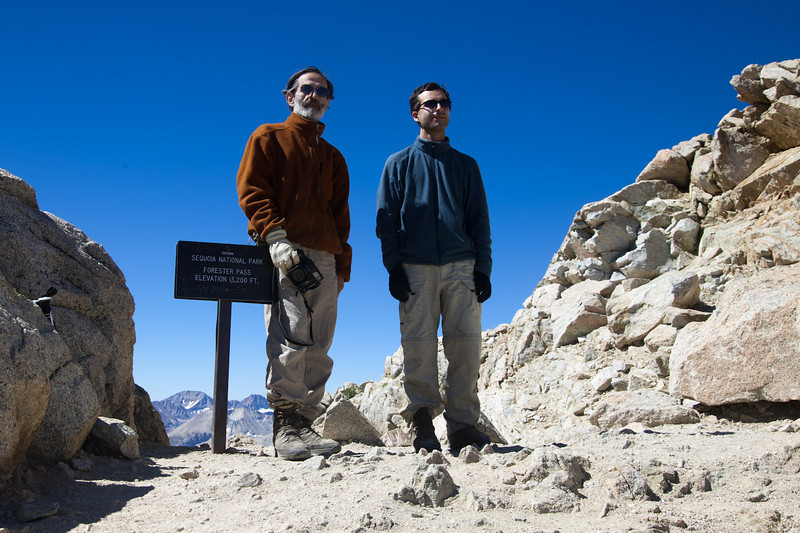The top of the Pacific Crest Trail