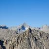 East Vidette Peak, and behind it the Kern Divide (Mt. Stanford et al.)