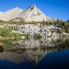 Reflection on upper Kearsarge Lake