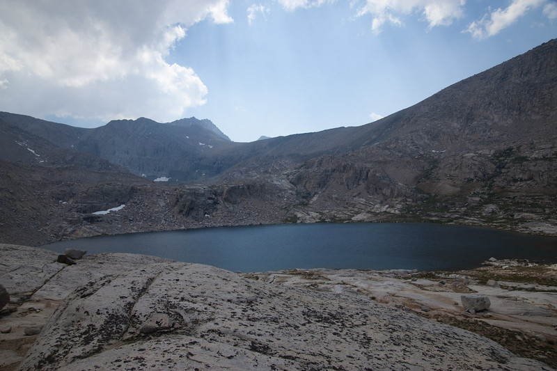 Unnamed lake at the end of Center Basin
