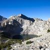 Big Pothole Lake, descending from Kearsarge Pass