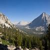 Looking back at Center Basin and East Vidette Peak
