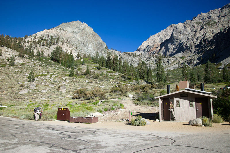 Onion Valley parking