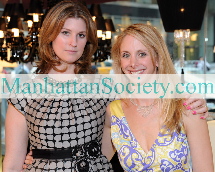 NEW YORK-APRIL 8:Co-Hosts: Kelly Farber Mallon, Lara Glazier attend PLATINUM JEWELS IN BLOOM Benefiting CENTRAL PARK CONSERVANCY on Tuesday, April 8, 2010 at BACCARAT, 625 Madison Avenue (at E. 58th Street), New York City, NY.  (PHOTO CREDIT:  ©Manhattan Society.com 2010 by Gregory Partanio)