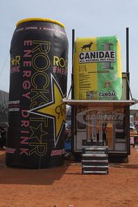 Rockstar & Canidae Balloons