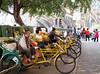 Rickshaws waiting, Macau