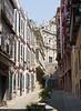 Colonial facades near St. Paul, Macau