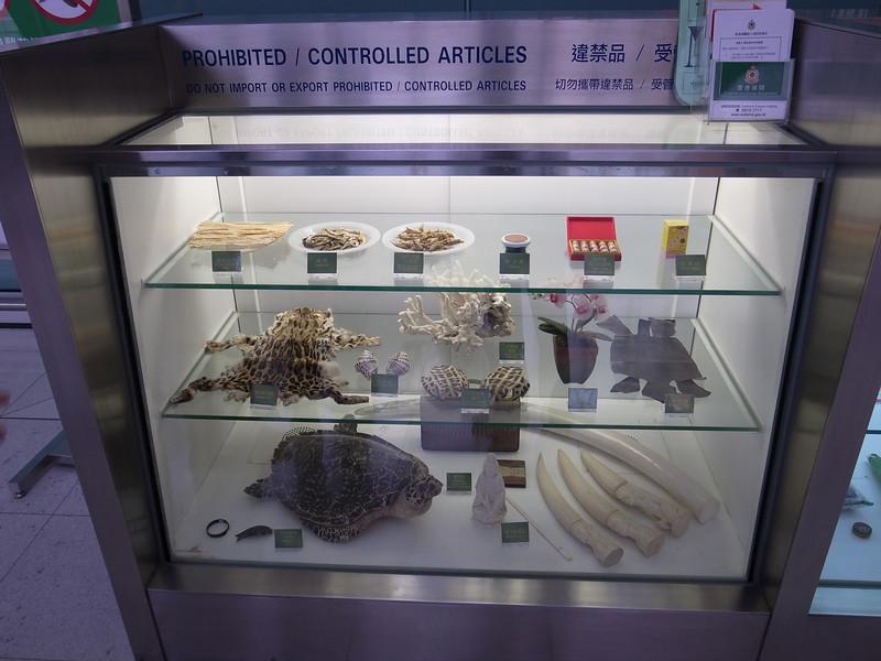 prohibited items, hong kong airport