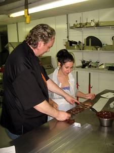 Chef Poulain critiques Alyssa's work
