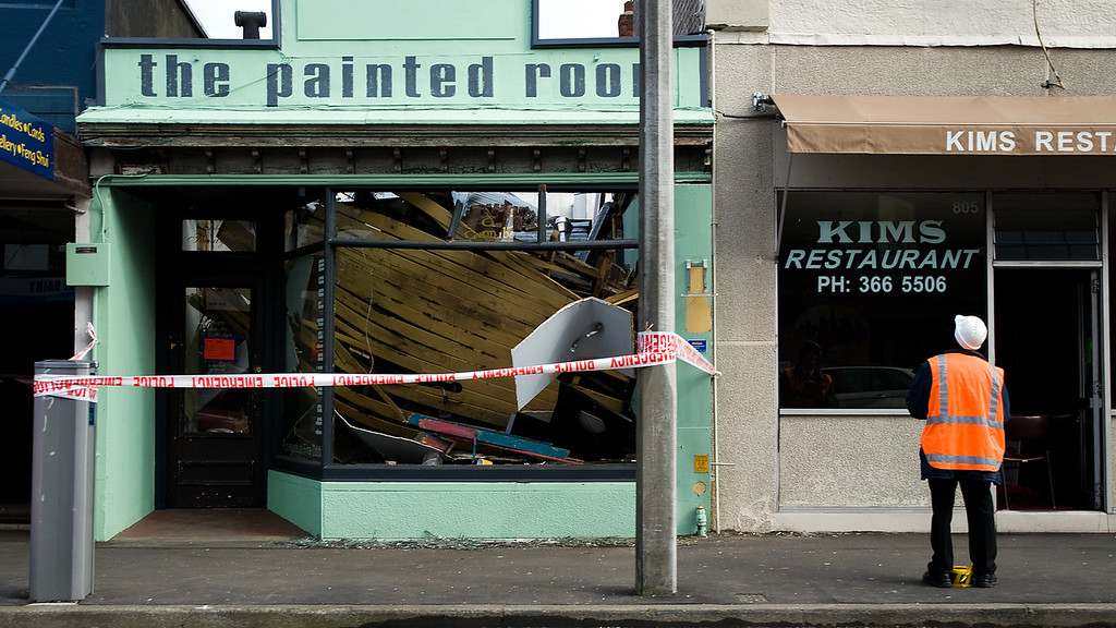 Structural damage close to CBD