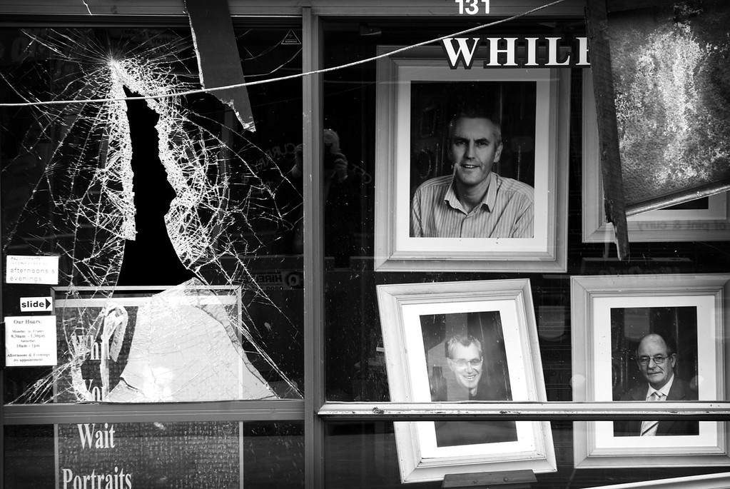 Photographer's shop window