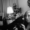 Whitney, with a camera