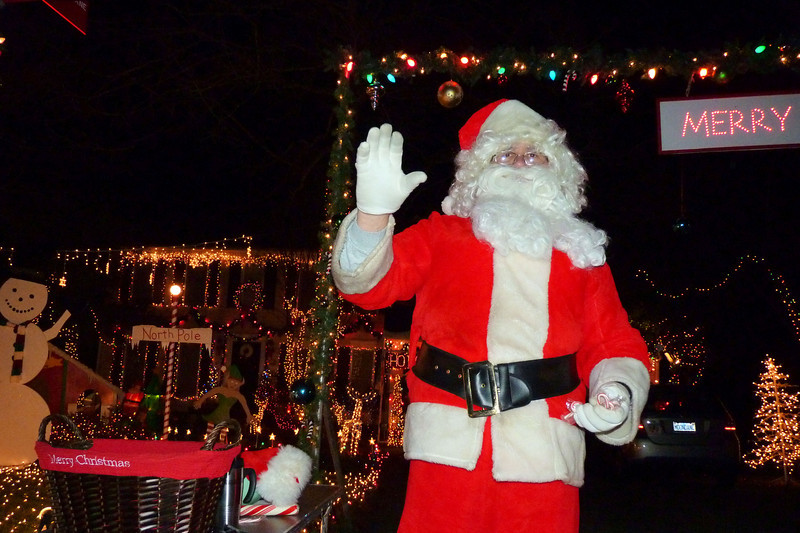 Santa Claus off Colony Road