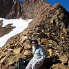 Chris, on the north ridge of Red Peak