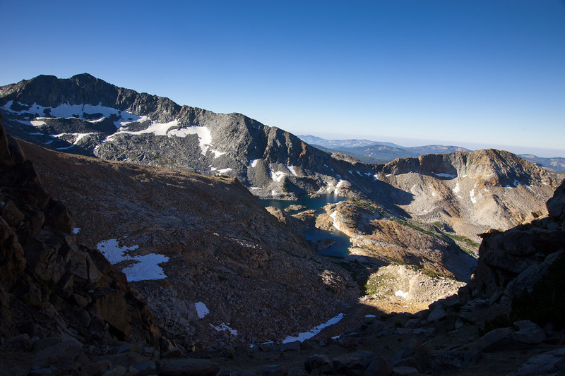 View south from Red Peak Pass
