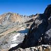 Reaching Merced Peak's west ridge