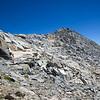 Merced Peak's south ridge