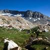 Merced Peak and west ridge