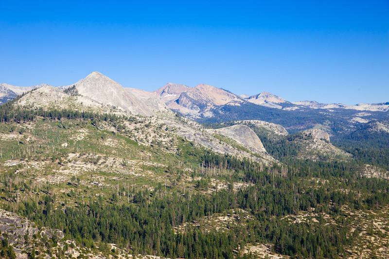 The Clark Range, from near Glacier Point