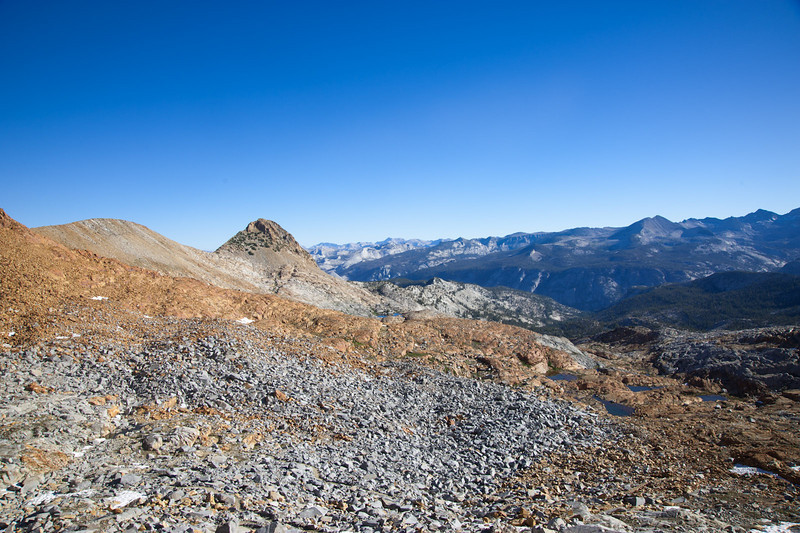 View north from Red Peak Pass