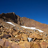 Northeast ridge of Red Peak