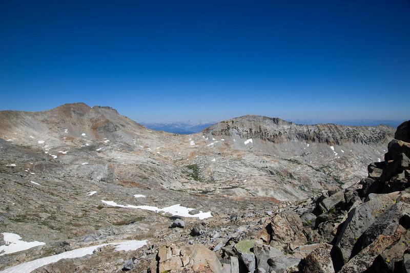 East from Merced Peak