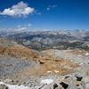Looking northeast from Red Peak Pass