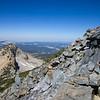 Following the west ridge