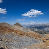 Looking north from Red Peak Pass