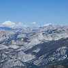 Mt. Conness and the Sawtooth ridge, 50 miles distant