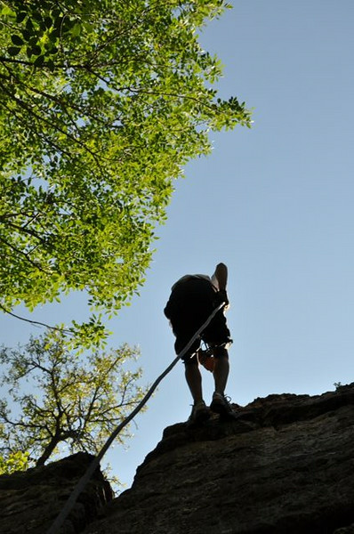 2010 Climbing at Sid Richardson