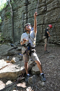 2010 Climbing at Sid Richardson