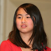 """Amanda Chen, a sixth-grader at Fostertown School, received an award at the 17th annual Community-Wide Celebration of Dr. King's Dream, """"Celebrating the Dream 2010,"""" which took place at North Junior High School in Newburgh, NY on Wednesday, January 20, 2010. Hudson Valley Press/CHUCK STEWART, JR."""