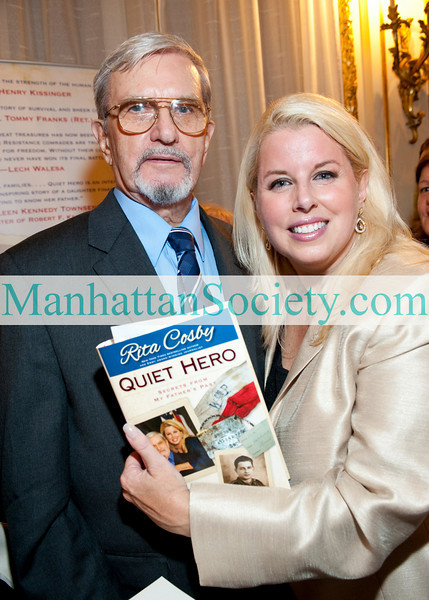 "NEW YORK-JUNE 22: Richard Cosby, Rita Cosby attend Book Party to Celebrate ""QUIET HERO: Secrets From My Fathers Past"" by RITA COSBY on Tuesday, June 22nd, 2010 at 7:30 PM at De Lamar Mansion - the residence of the Consulate General of Poland in New York, 233 Madison Avenue, New York, NY 10016 (PHOTO CREDIT: ©Manhattan Society.com 2010 by Christopher London)"