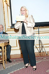 "NEW YORK-JUNE 22: Rita Cosby addresses guests at Book Party to Celebrate ""QUIET HERO: Secrets From My Fathers Past"" by RITA COSBY on Tuesday, June 22nd, 2010 at 7:30 PM at De Lamar Mansion - the residence of the Consulate General of Poland in New York, 233 Madison Avenue, New York, NY 10016 (PHOTO CREDIT: ©Manhattan Society.com 2010 by Christopher London)"