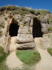 Gwennap Head caves
