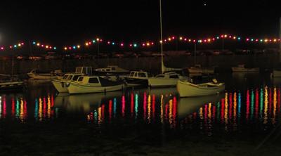 Mousehole harbour yachts