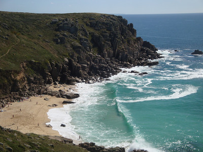 Gwennap Head beach
