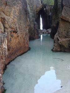 Gwennap Head sea cave