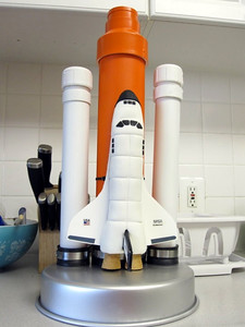 The Space Shuttle Cake