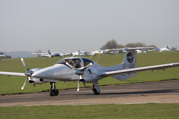 Cranfield (and Aerial) : 9th April