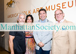 Roger Thomas, Evette Rios, Michael Aram, Barry Briskin (Chairman, Board of Trustees of American Folk Art Museum)