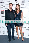 NEW YORK-MARCH 22:Rande Gerber, Cindy Crawford  attend DIFFA'S DINING BY DESIGN NEW YORK 2010: Gala Dinner Hosted By Cindy Crawford and Rande Gerber on Monday, March 22, 2010 at Pier 94, 12th Avenue at 55th Street, New York City, NY