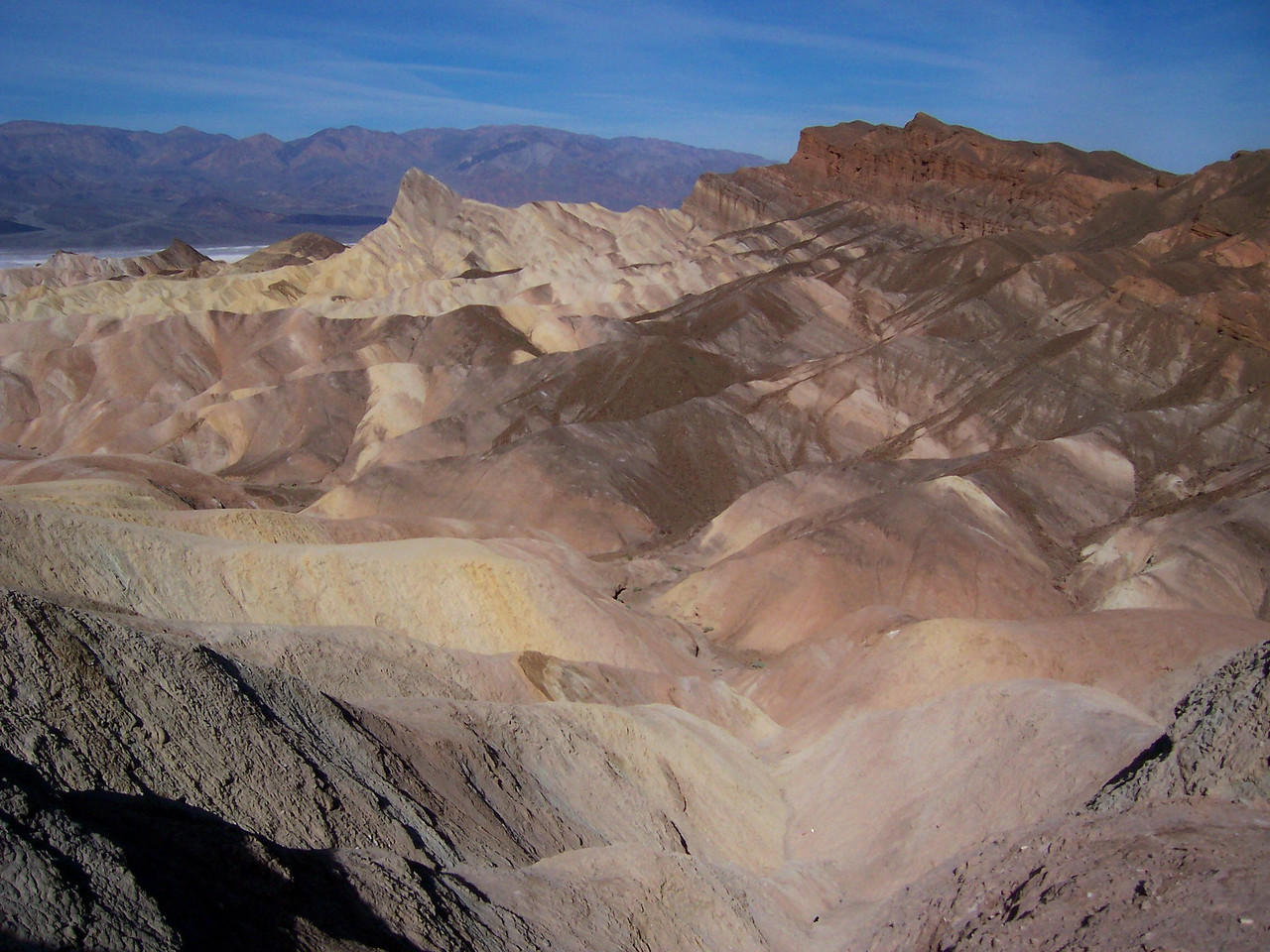 We set off with Paul for Zabriskie Point knowing the gang was in Mike's capable hands.