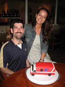 David with cake creator Olivia