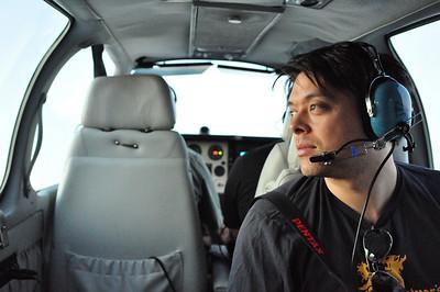 Dawn Flight to Rainier