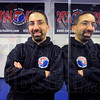 "Here to help: Steve Ellis in his dojo. ""The Studio Martial Arts""."