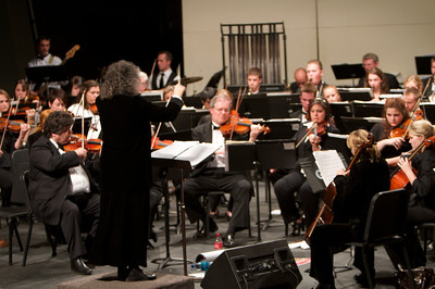 Orchestra Concert with GWU Orchestra, Crest High School Orchestra, and Dan X. Padgett.
